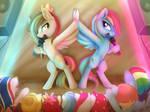 Comm - Rainbow Dash and Princewhateverer