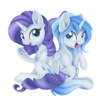 Comm - Rarity and Star