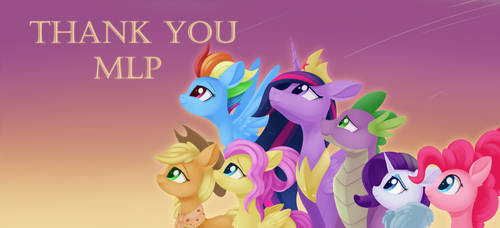 MLP - Thank You by Dusthiel