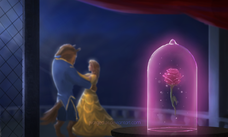 Beauty And The Beast By Jvargeaux On DeviantArt