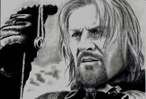 Boromir LOTR Sean Bean by Dr-Horrible