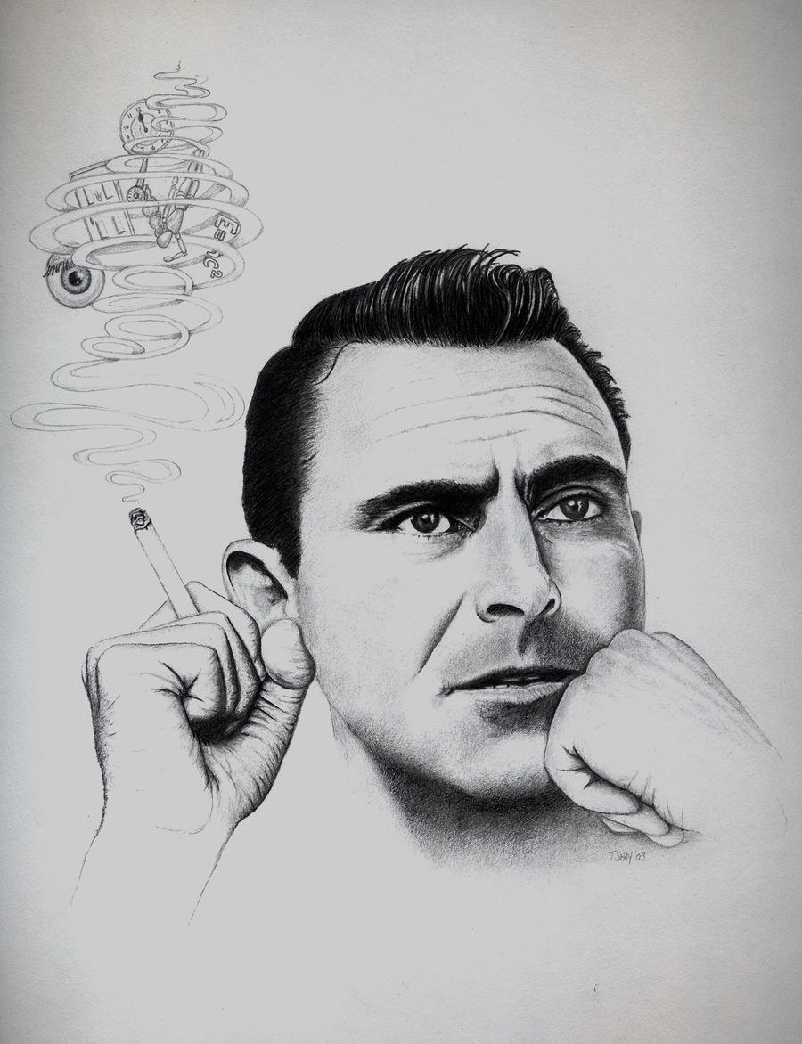 Rod Serling by Dr-Horrible