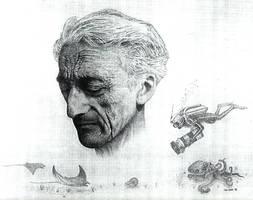 Jacques Cousteau by Dr-Horrible