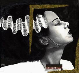 Bride of Frankenstein SDCC by Dr-Horrible