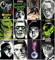 Scifi Horror Poster Series 2