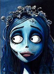 Corpse Bride sketch card