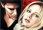 Angel-Buffy 2-card Sketch