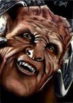 Giles as Fyarl Demon-Buffy
