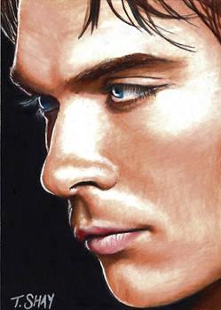 Damon-The Vampire Diaries Card