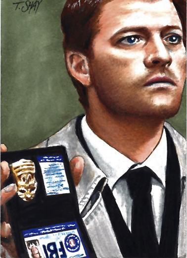 Supernatural-FBI Agent Castiel By Dr-Horrible On DeviantArt