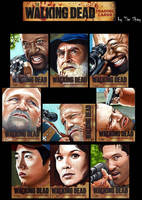 The Walking Dead Sketches 2 by Dr-Horrible