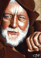Star Wars Obi-Wan Kenobi sketch by Dr-Horrible