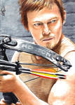 Daryl Dixon - The Walking Dead - Sketch Card