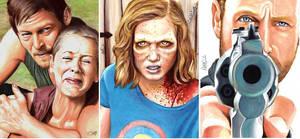 The Walking Dead Sophia Barn Scene
