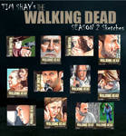 The Walking Dead Season 2 sketches page 1