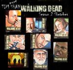 Walking Dead Season 2 sketches page 2