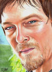 Daryl Dixon - The Walking Dead Sketch