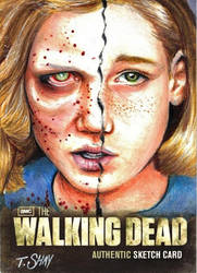 The Walking Dead Season 2 Sophia Artist Proof by Dr-Horrible