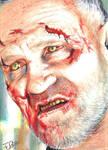 The Walking Dead Merle Walker Sketch