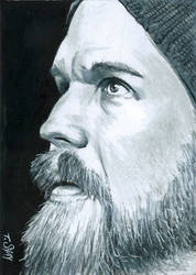 Opie Winston - Sons of Anarchy sketch by Dr-Horrible