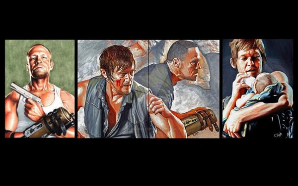 The Walking Dead Dixon Brothers