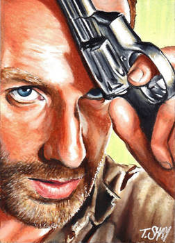 Rick Grimes sketch - The Walking Dead