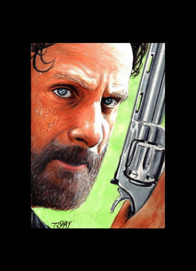 Rick Grimes-the Walking Dead by Dr-Horrible