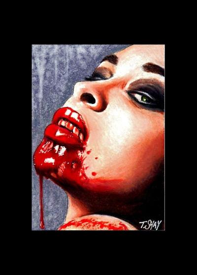 Vampirella Artist Proof by Dr-Horrible