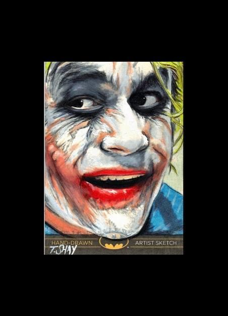 Joker Artist Proof Sketch Card by Dr-Horrible