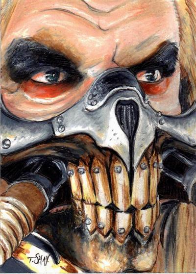 Immortan Joe sketch by Dr-Horrible