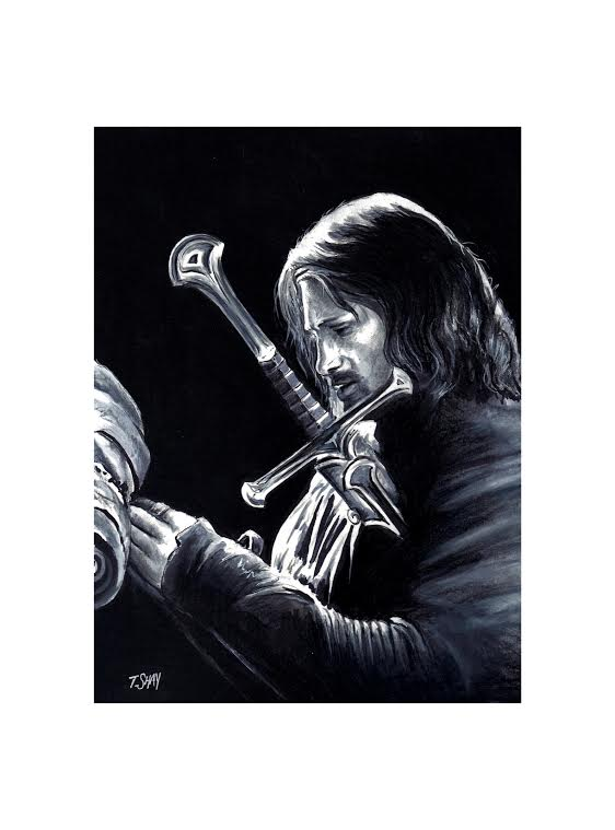 Aragorn Sketch by Dr-Horrible