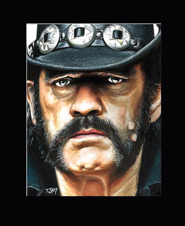 Lemmy Kilmister by Dr-Horrible