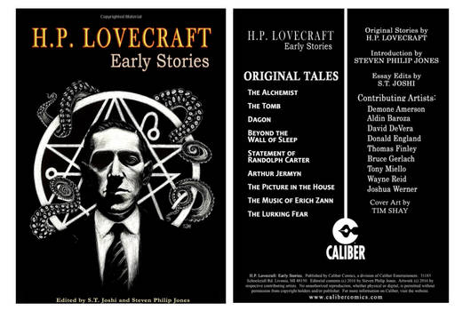 H.P. Lovecraft Early Stories Cover