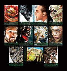 Alien Anthology Sketch Cards