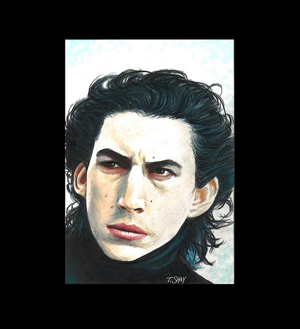 Kylo Ren drawing by Dr-Horrible
