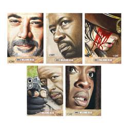 The Walking Dead Season 6 Cards