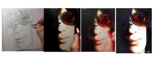 Joey Ramone - Drawing Evolution