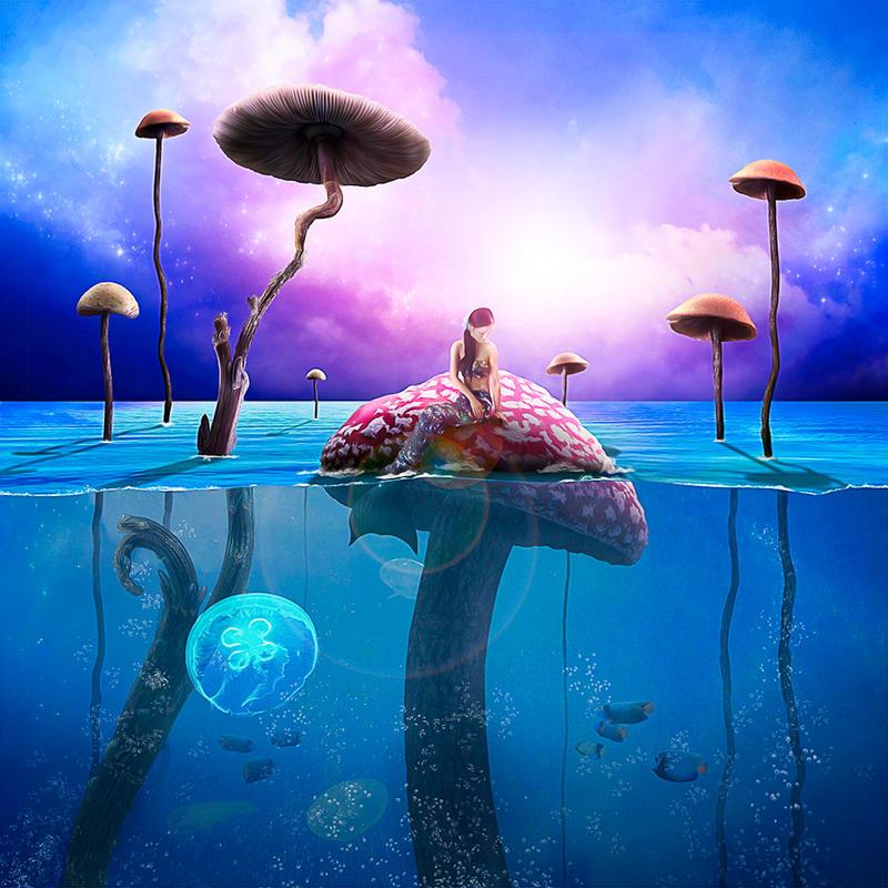 Mermaid World by DRLart