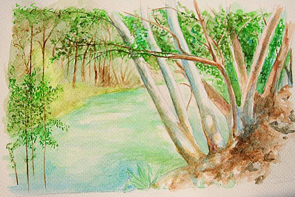 The river Jordan by Mc-Art
