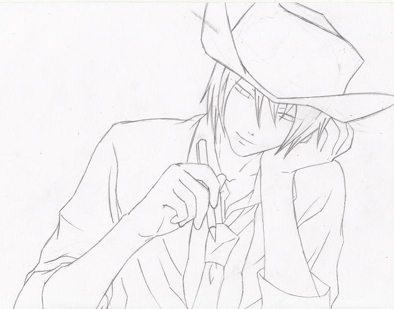 Daniel sketch by KristophGavin-Devil