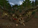 Carnivores Plus :Triceratops Takedown