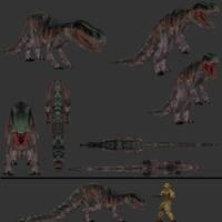 Carnivores Fallen Kings: Euparkaria primarkensis by Keegz97