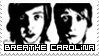 Breathe Carolina Stamp by Lyricalx