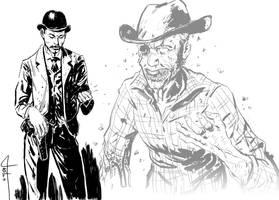Wild West Zombie by TomaszWitas