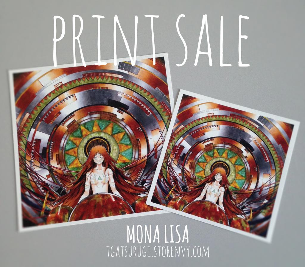 MonaLisaPrintSale by TGA-Tsurugi