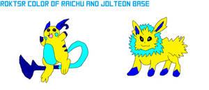 RDKTSRs Jotleon And Raichu Base