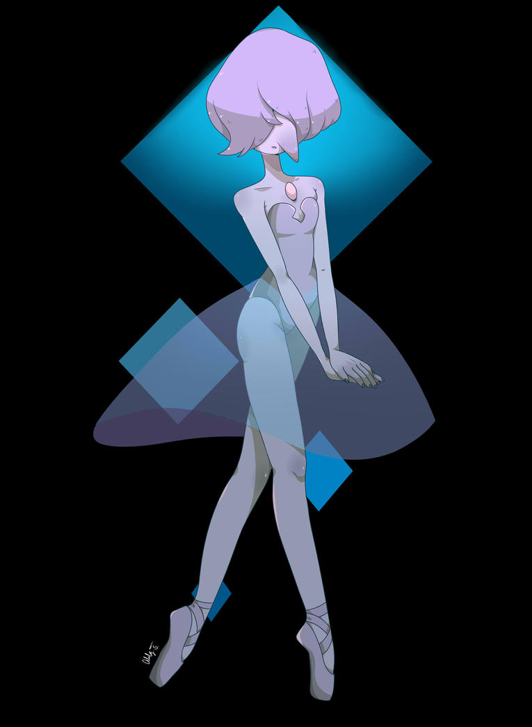 Wanted to draw Blue Pearl again since the Steven Universe hiatus has been kinda getting to me.