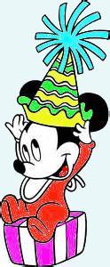 Babby Mickey's Birthday by lostgirl343