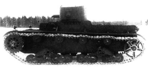 Light tank TMM-1 by MADMAX6391