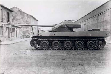 heavy tank AMX M4 by MADMAX6391